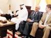 في اجتماع مع نائب رئيس مجلس الامة عبدالله الرومي